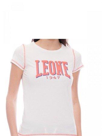 Dámské tričko LEONE bílé S [LW1755]