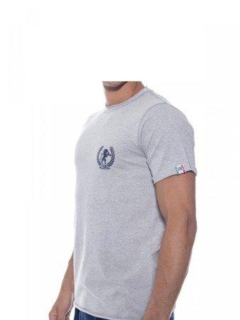 Tričko LEONE šedé melange M [LSM1709]