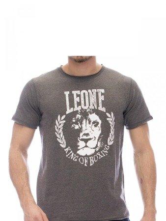 Tričko LEONE tmavě šedé M [LSM1710]